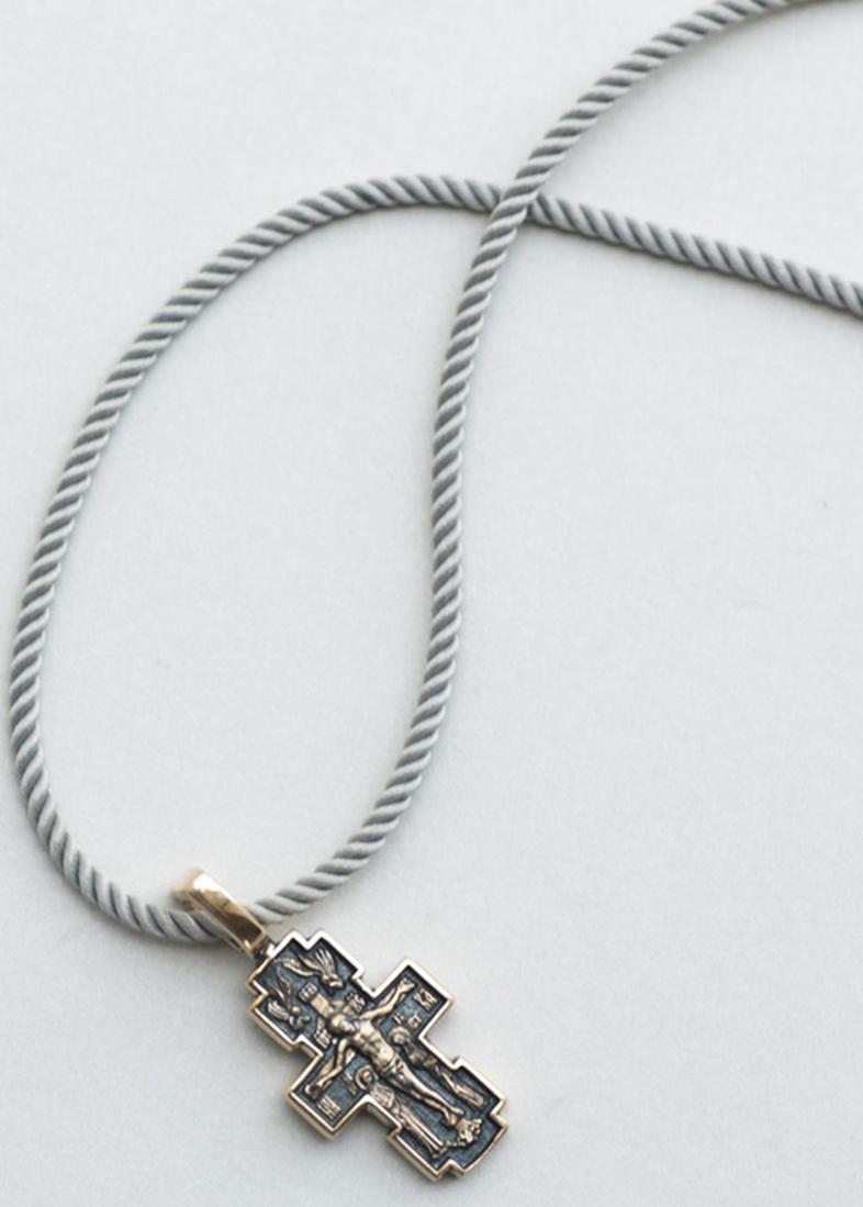 Восьмиконечный крест Млекопитательница из золота