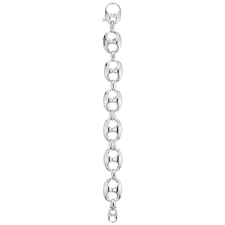 Браслет-цепочка Gucci Marina Chain с крупными звеньями из серебра