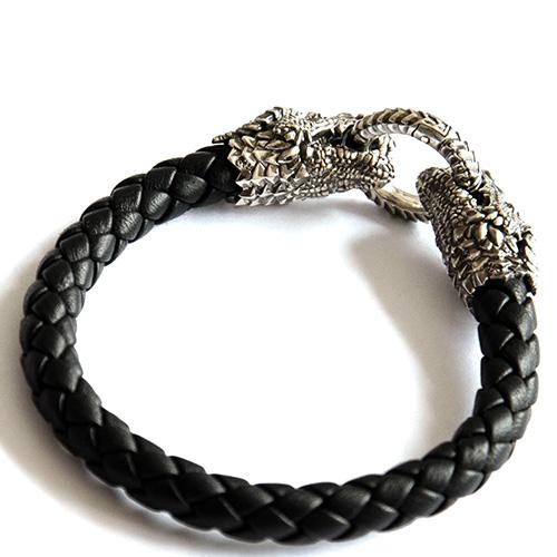 Браслет Totem Adventure Jewelry Dragon с застежкой-кольцом, фото