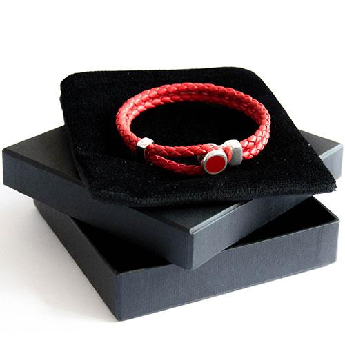 Красный браслет Totem Adventure Jewelry Spot Red, фото