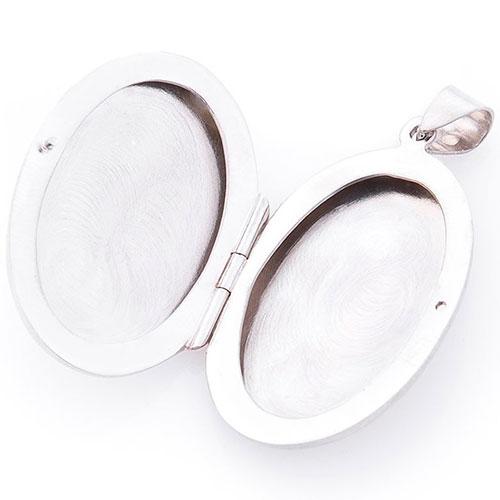 Серебряная подвеска для фотографии, фото