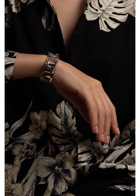 Серебряный браслет Chimento со звеньями, фото