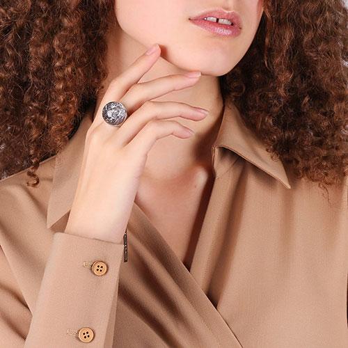 Кольцо Fraboso из серебра с кварцем, фото