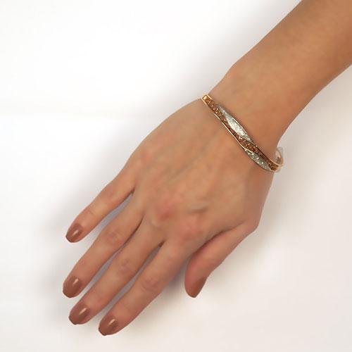 Браслет из золота с бриллиантами, фото