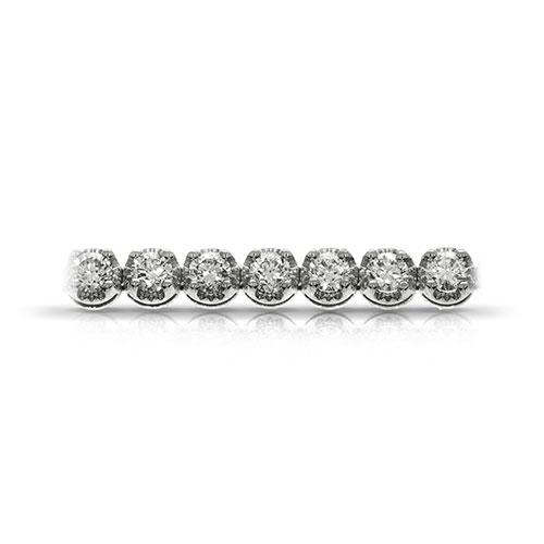 Браслет из белого золота с бриллиантами, фото