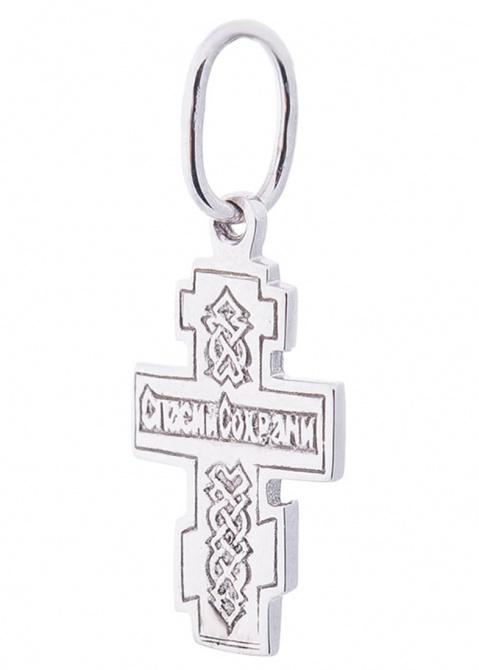 Восьмиконечный крест с родированием, фото