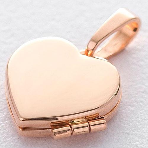 Кулон-сердце для фотографии, фото