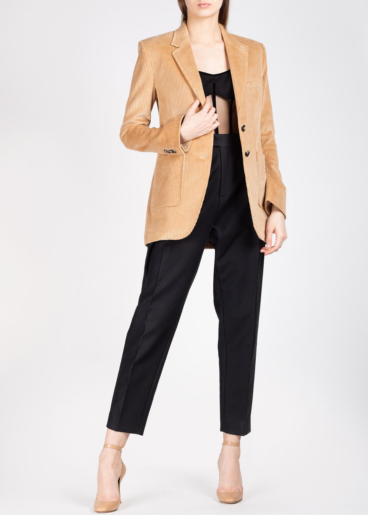 Вельветовый пиджак Isabel Marant с накладными карманами