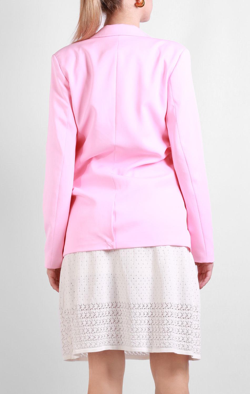 Розовый пиджак Silvian Heach на одну пуговицу