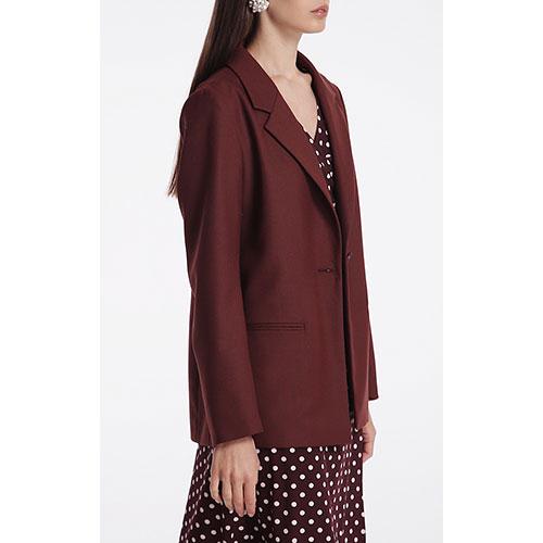 Пиджак Shako бордового цвета, фото