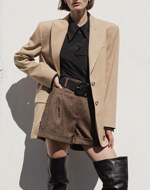 Шерстяной пиджак Shako на двух пуговицах, фото