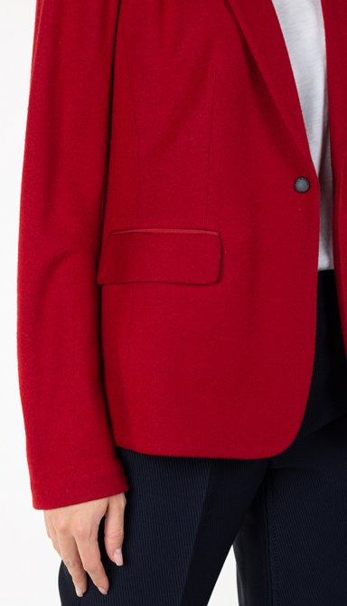 Шерстяной пиджак Rag & Bone на кнопке, фото