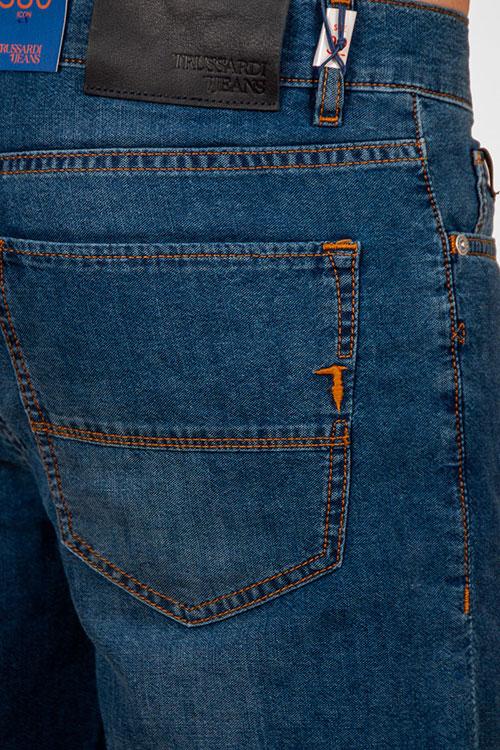 Джинсы Trussardi Jeans темно-синие, фото