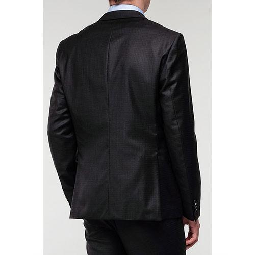 Мужской пиджак Hugo Boss черного цвета, фото