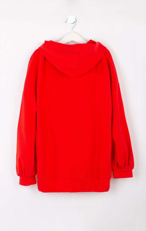 Красная толстовка Elsy для девочки