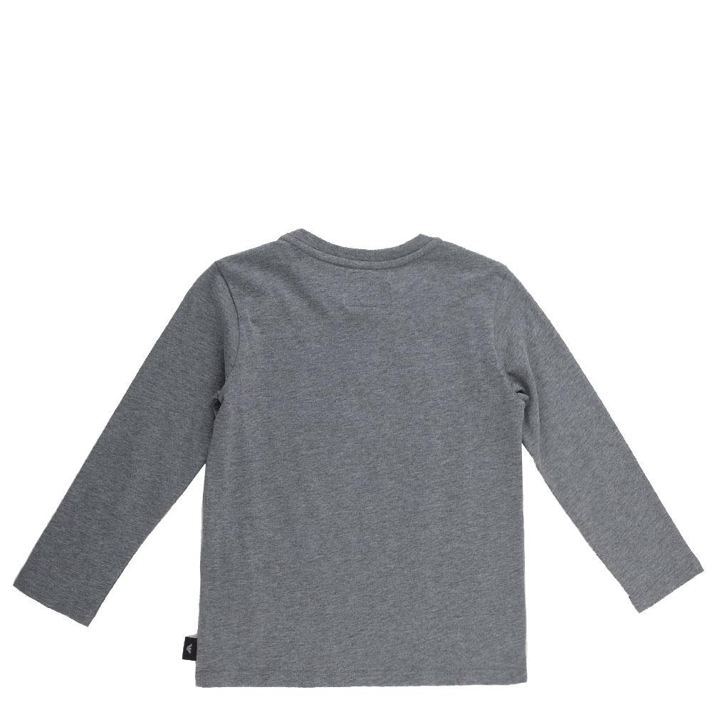 Детский джемпер Emporio Armani серого цвета