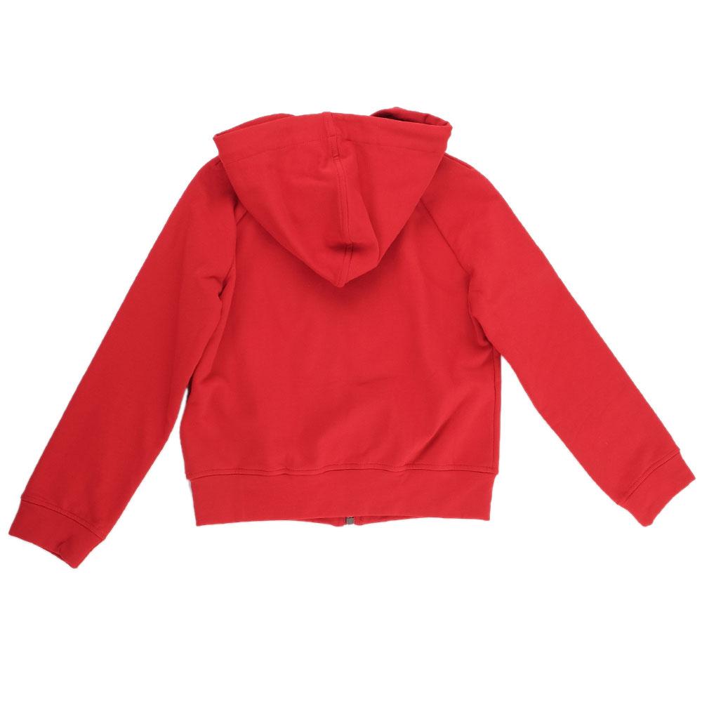 Детская толстовка Ermanno Scervino красного цвета