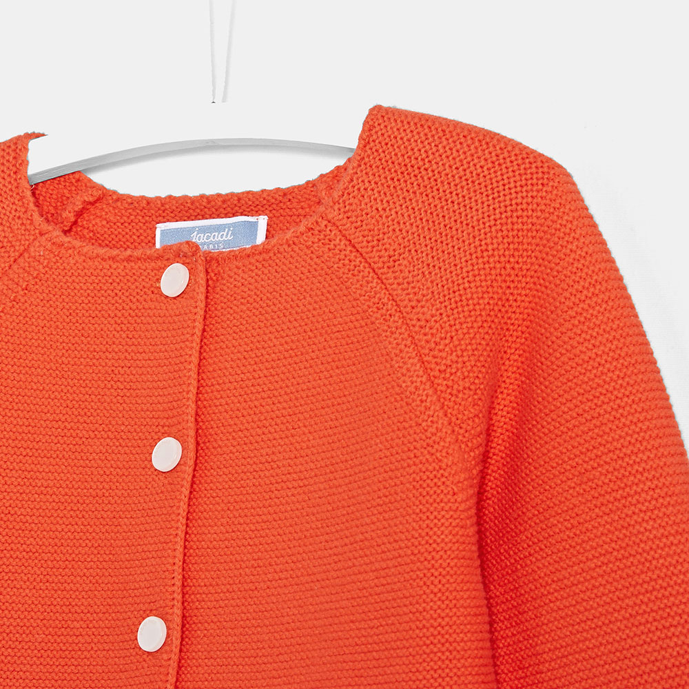 Оранжевый кардиган Jacadi для детей