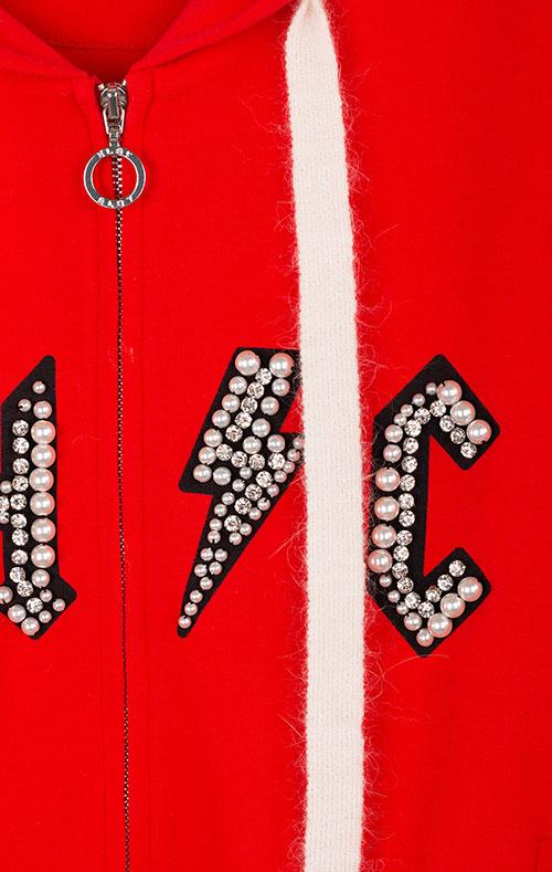 Красная толстовка Elsy для девочки, фото