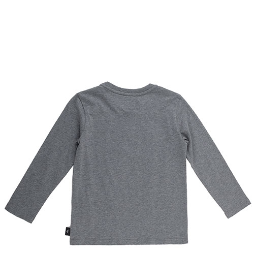 Детский джемпер Emporio Armani серого цвета, фото