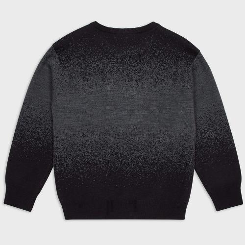 Детский свитер Emporio Armani с фирменной вышивкой, фото