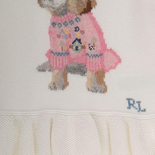 Кофта для девочки Polo Ralph Lauren с баской, фото