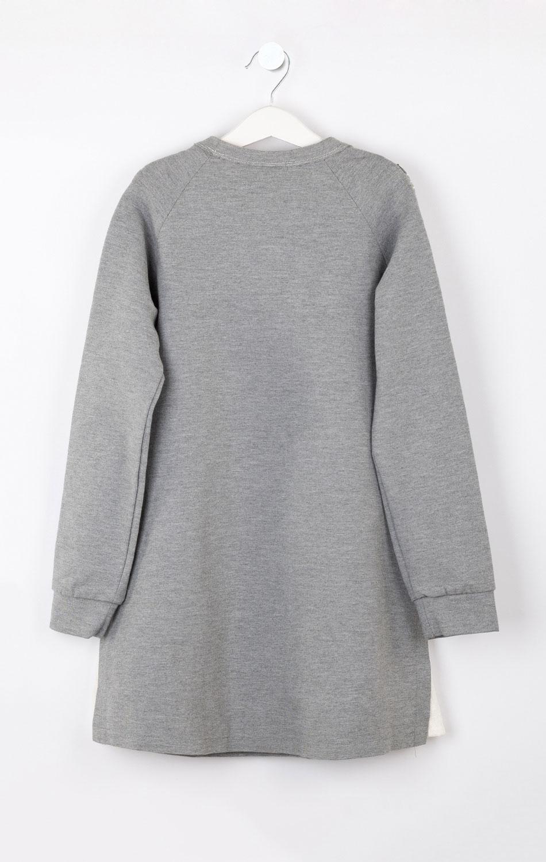 Серое платье Elsy для девочки