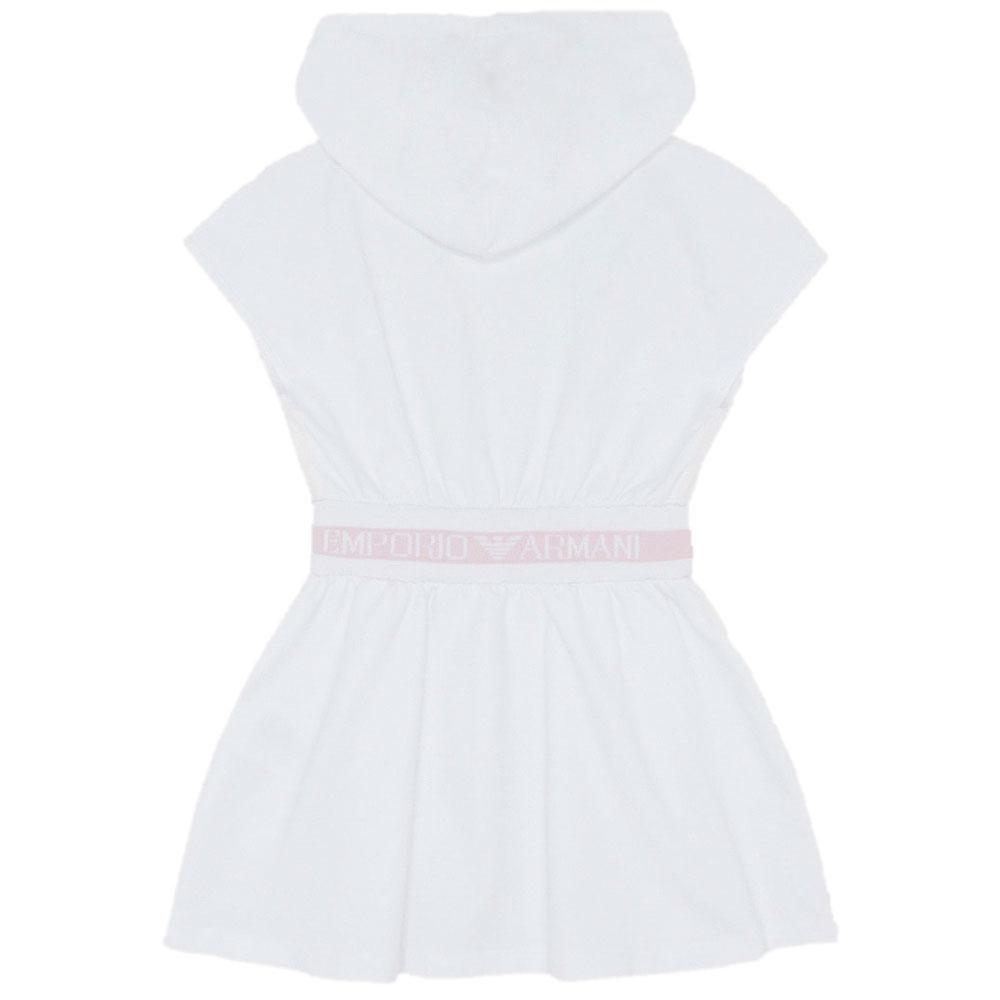 Платье с капюшоном Emporio Armani для девочки