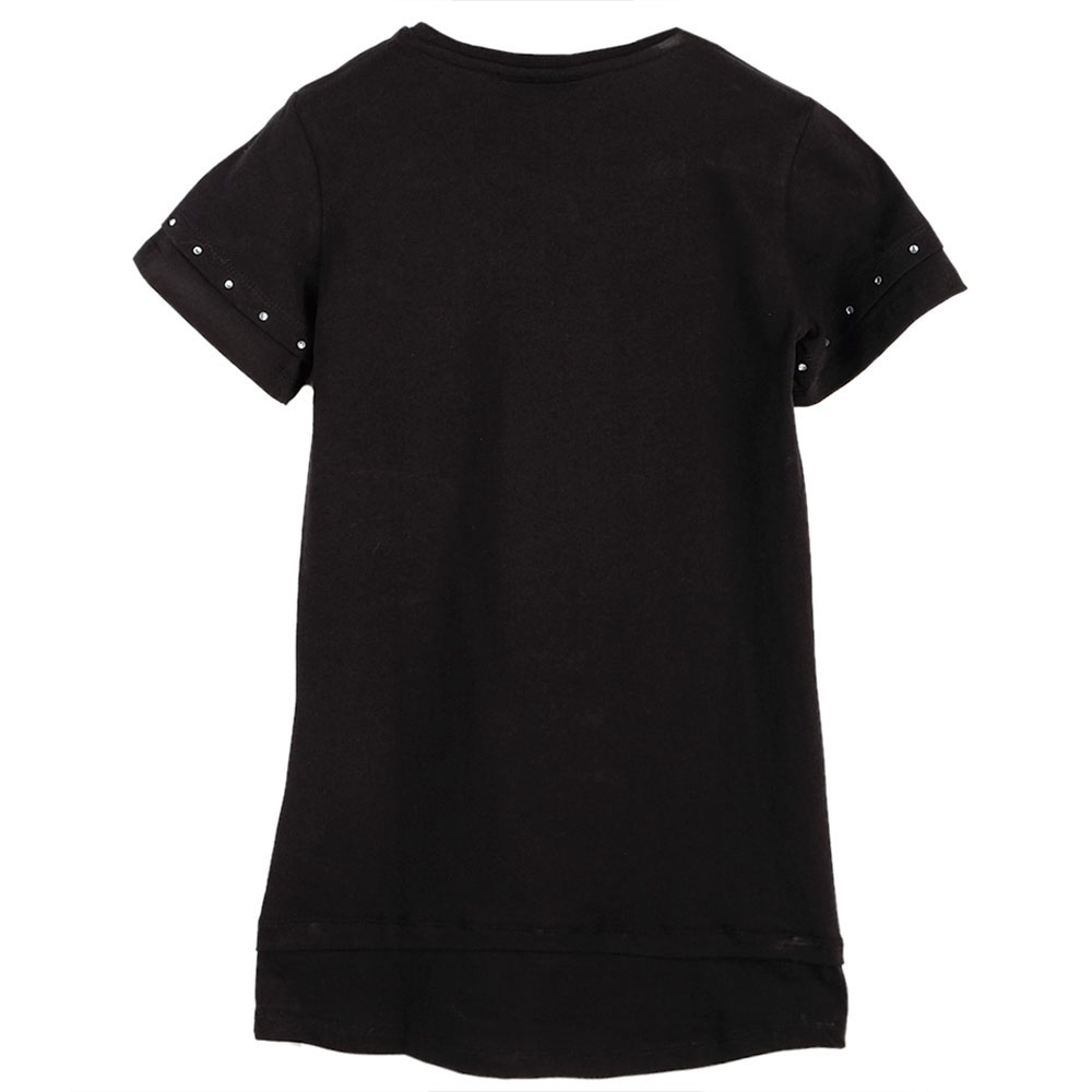 Черное платье Philipp Plein со стразами