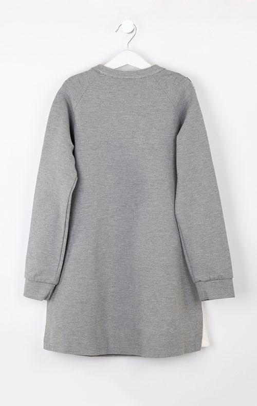 Серое платье Elsy для девочки, фото