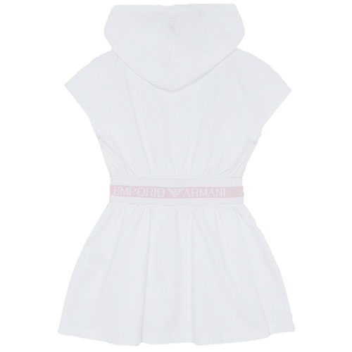 Платье с капюшоном Emporio Armani для девочки, фото