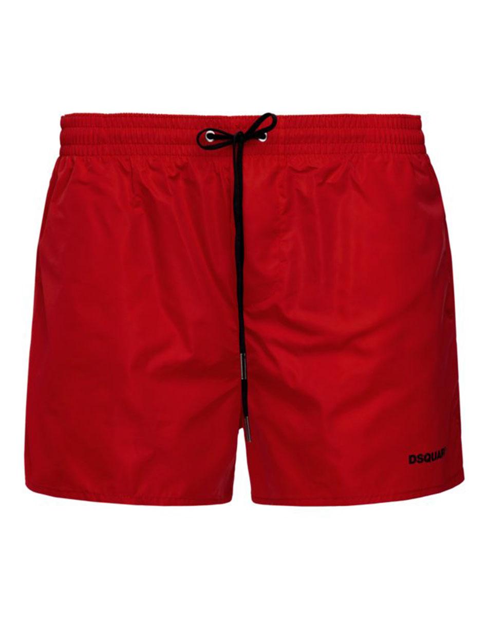Пляжные шорты Dsquared2 Icon красного цвета