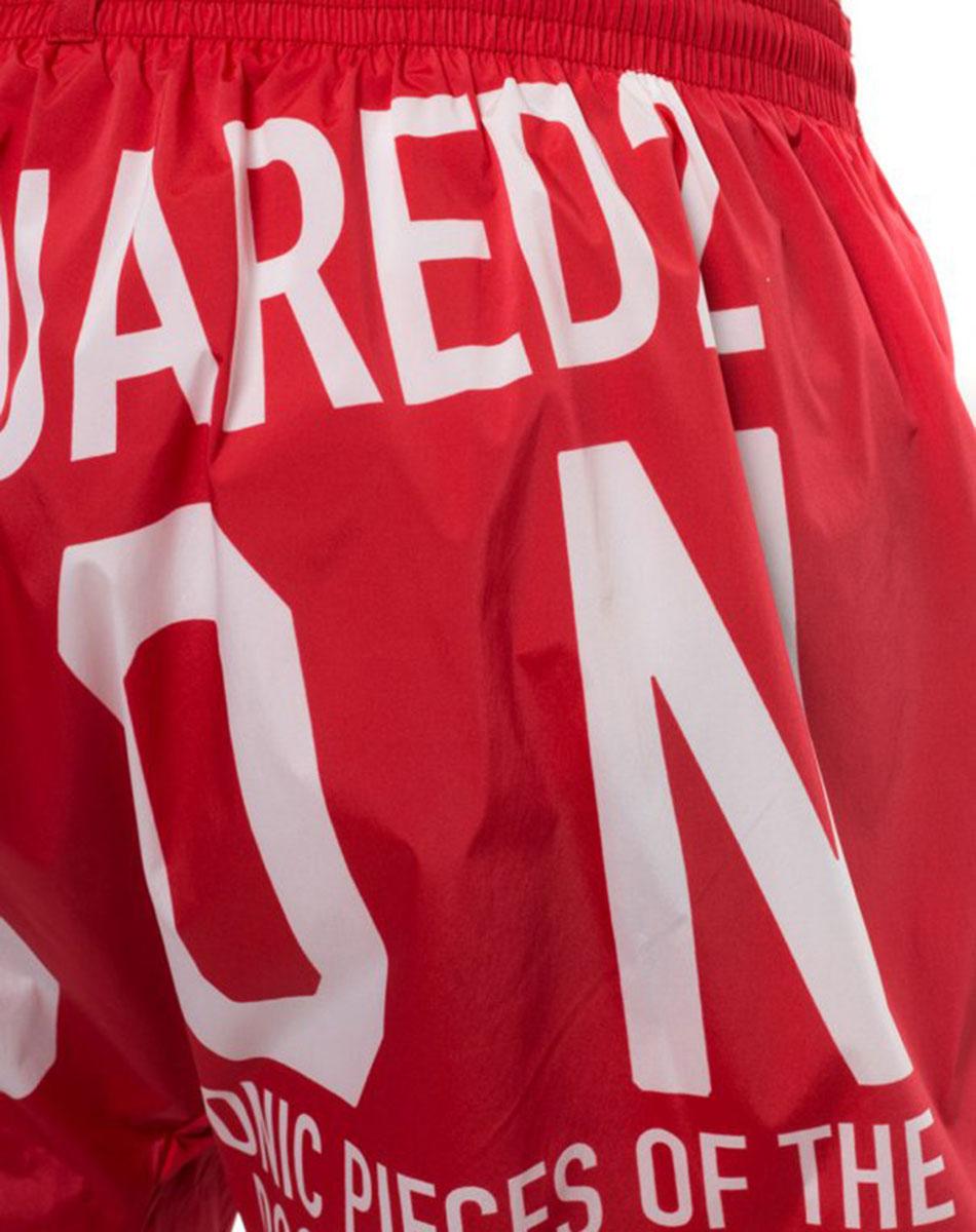 Плавательные шорты Dsquared2 Icon в красном цвете