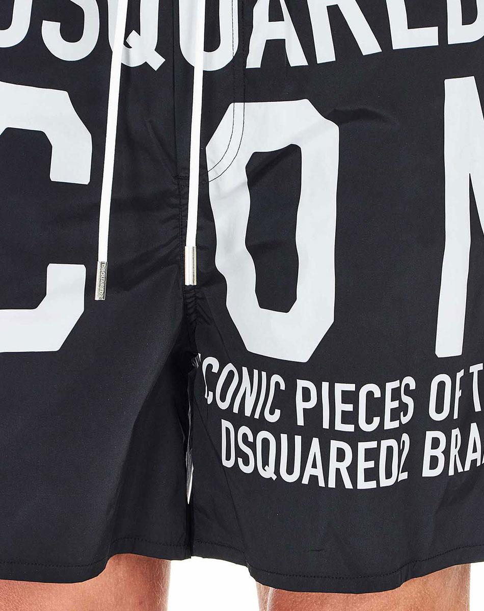 Пляжные шорты Dsquared2 Icon с надписями