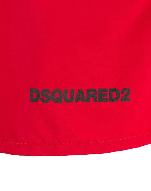 Пляжные шорты Dsquared2 Icon красного цвета, фото
