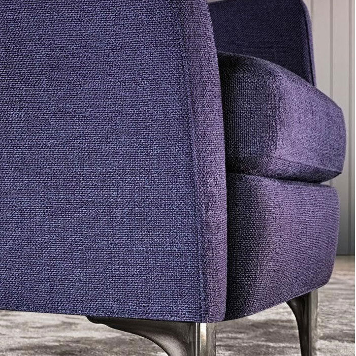 Кресло Мinotti Denny синего цвета