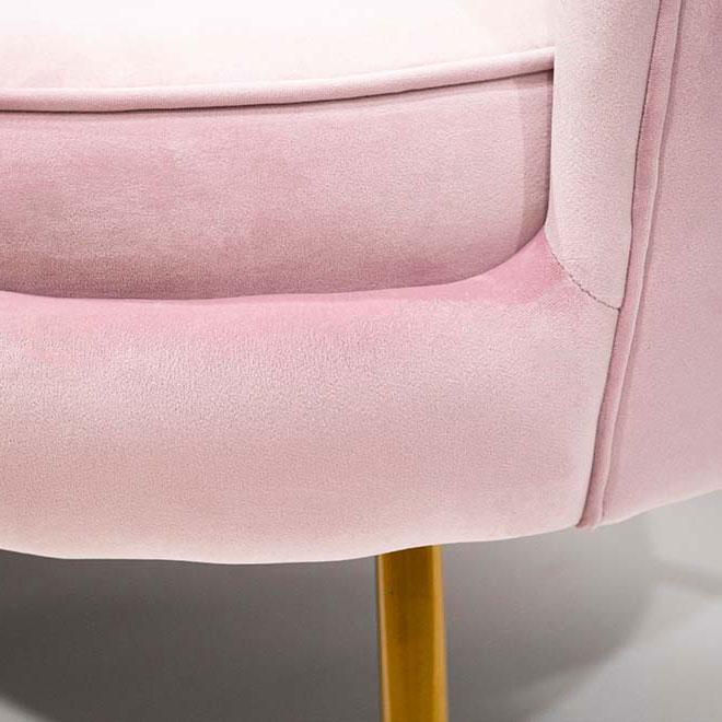 Мягкий диван PRESTOL Party Шелл розового цвета