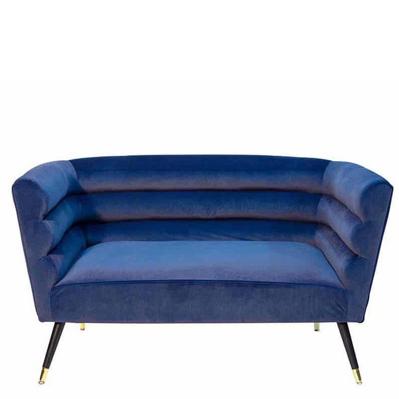 Мягкий диван PRESTOL Party Ноель с обивкой из велюра