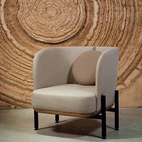 Кресло Wudus Royal Sun бежевого цвета, фото