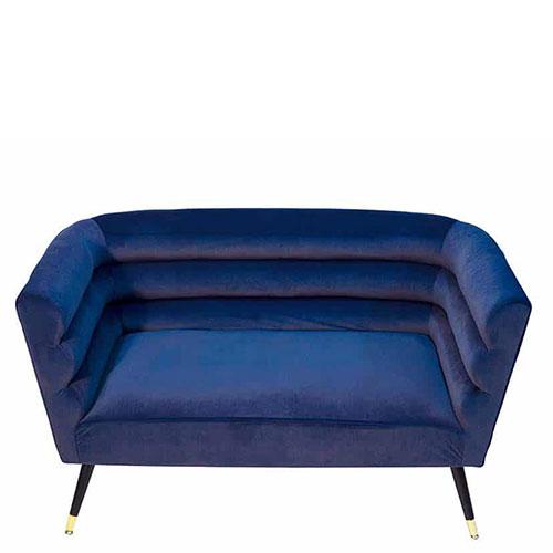 Мягкий диван PRESTOL Party Ноель с обивкой из велюра, фото