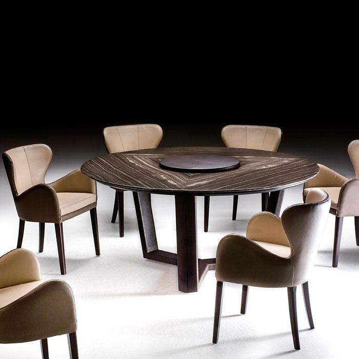 Обеденный стол Borzalino В140 круглой формы