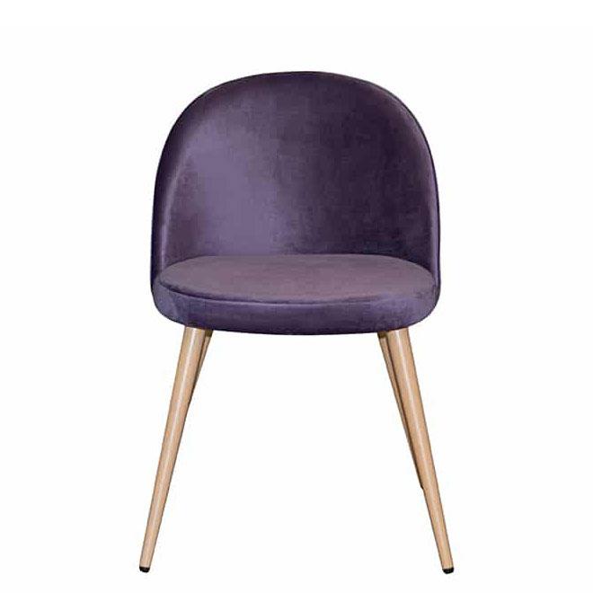 Стул PRESTOL Smart Паркер фиолетового цвета