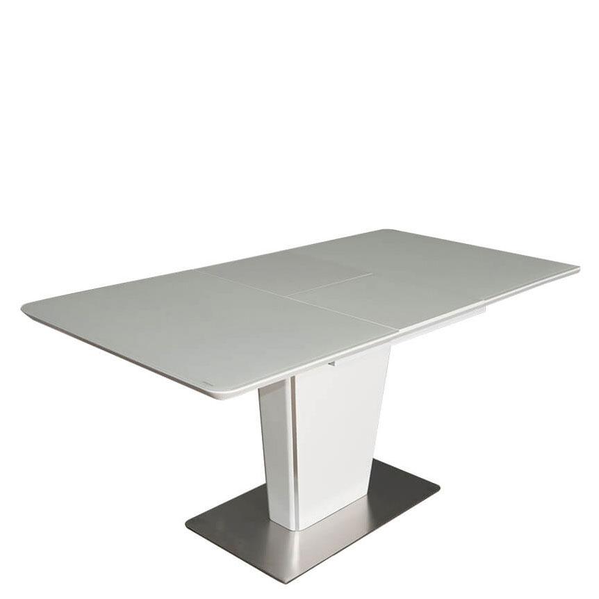 Раскладной стол PRESTOL Hi-tech Марлен белого цвета