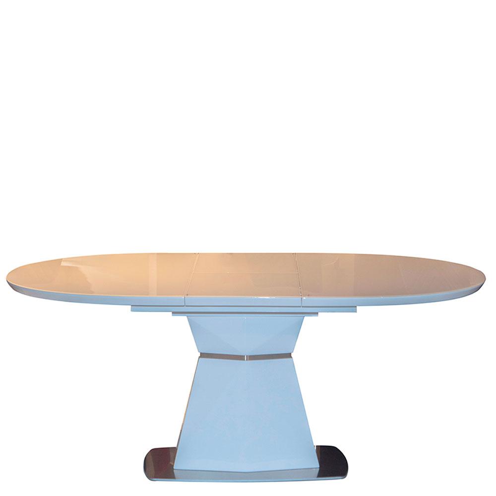 Стол PRESTOL Trend Даймонд белого цвета