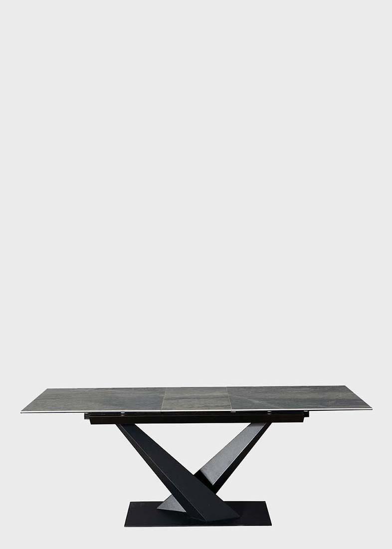 Обеденный стол PRESTOL Флейм с керамической столешницей
