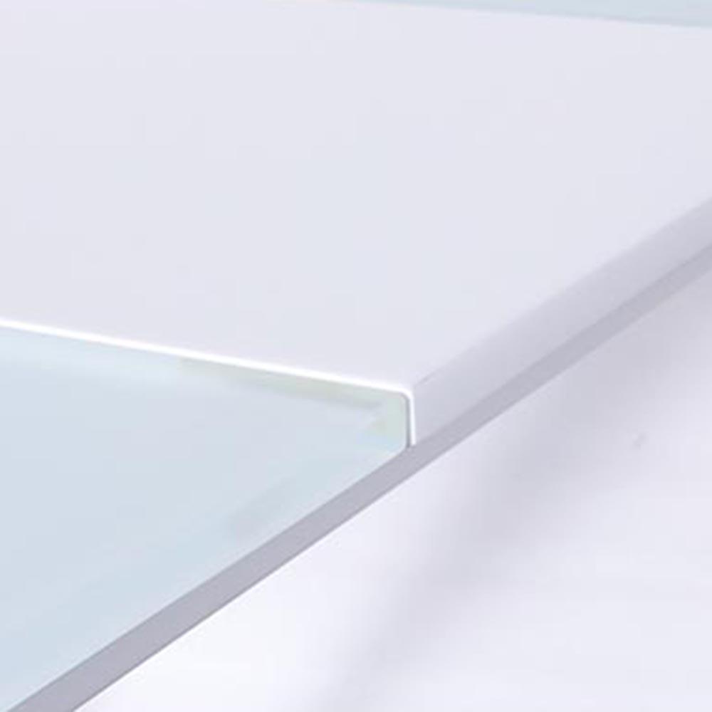 Стол PRESTOL Smart Твист обеденный раскладной белый
