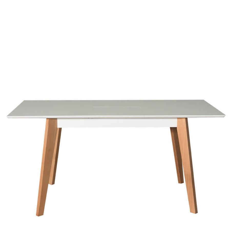 Раскладной стол PRESTOL Smart Милан с деревянными ножками