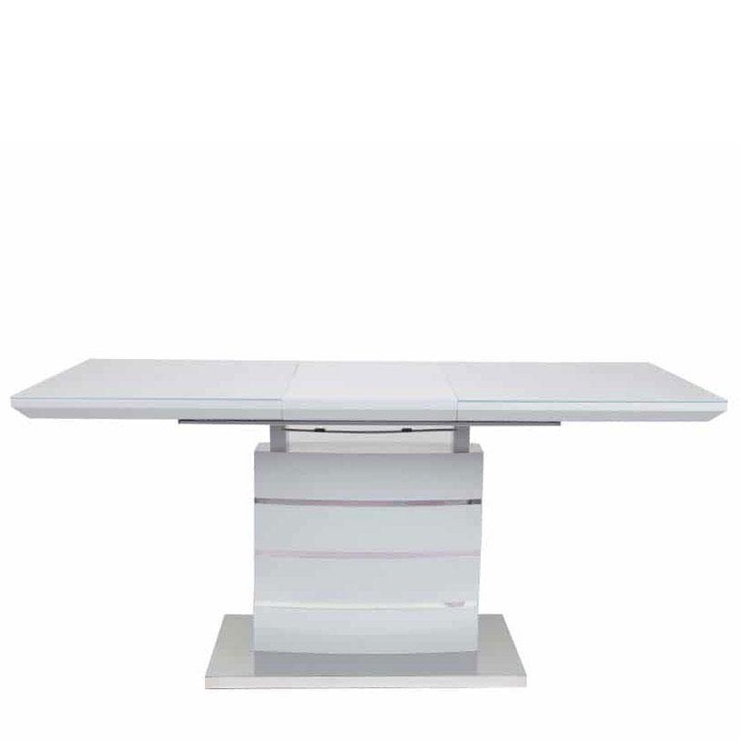 Стол PRESTOL Trend Скайлайн серого цвета 120/160x80x76 см