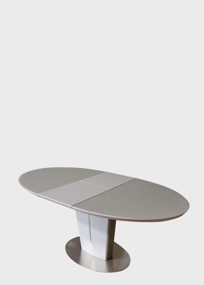 Стол обеденный PRESTOL Ева из матового стекла
