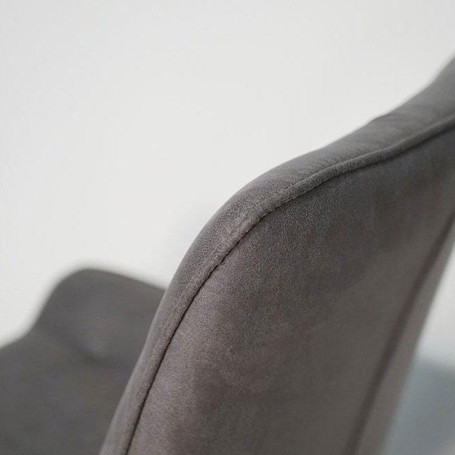 Стул PRESTOL Loft Клайд темно-серого цвета